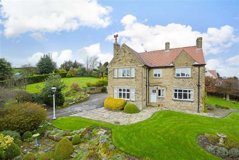 4 Bedrooms Detached House for sale in Upper Hagg Road, Thongsbridge, Holmfirth, HD9