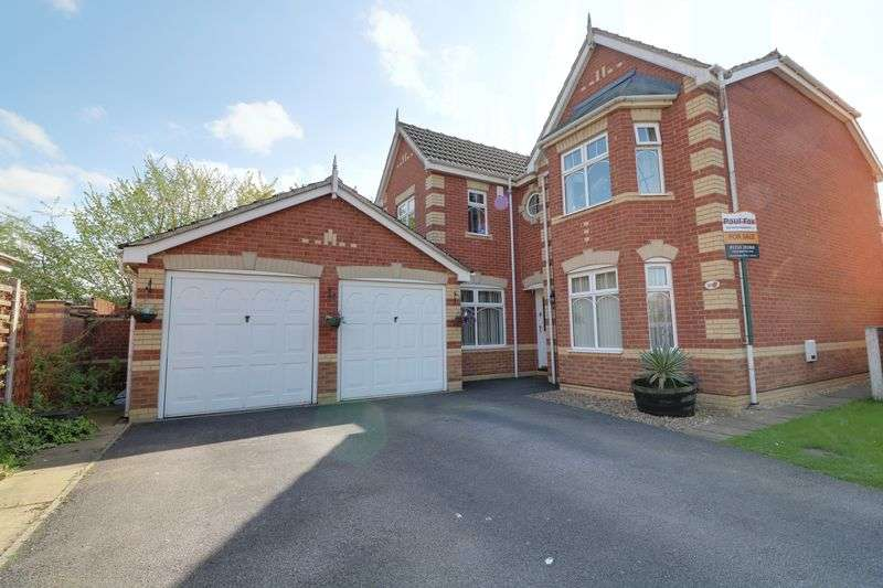 4 Bedrooms Detached House for sale in Sedgewood Way, Scunthorpe