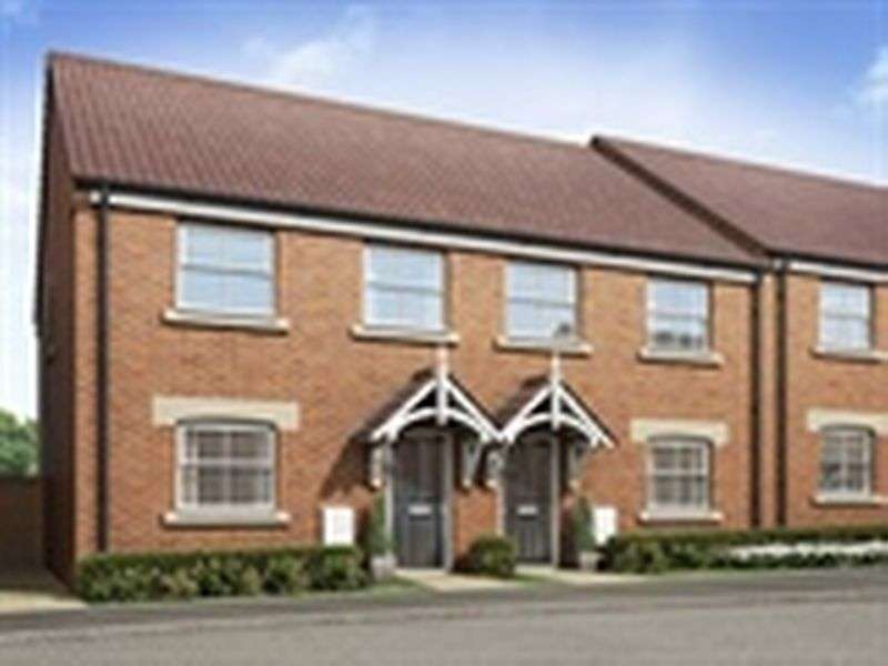 3 Bedrooms Terraced House for sale in The Cottesmore - 3 Bed End Town House