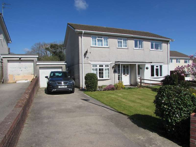 3 Bedrooms Semi Detached House for sale in Mervyn Way, Pencoed, Bridgend. CF35 6JH