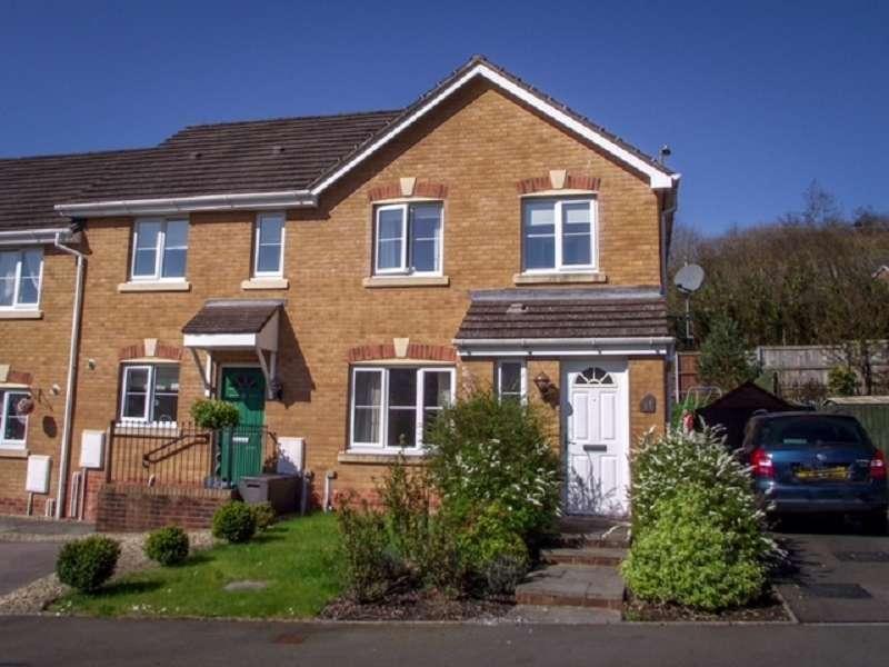 3 Bedrooms End Of Terrace House for sale in Cwrt Pant Yr Awel , Lewistown, Bridgend. CF32 7HW