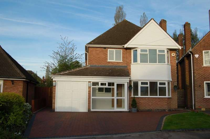 3 Bedrooms Detached House for sale in Claverdon Close, Solihull