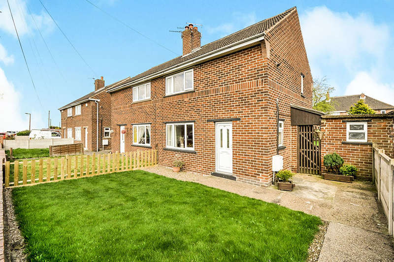 2 Bedrooms Semi Detached House for sale in Yews Lane, Kendray, Barnsley, S70