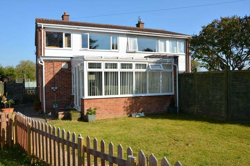 3 Bedrooms Semi Detached House for sale in Penmoor Place, Burnham-On-Sea