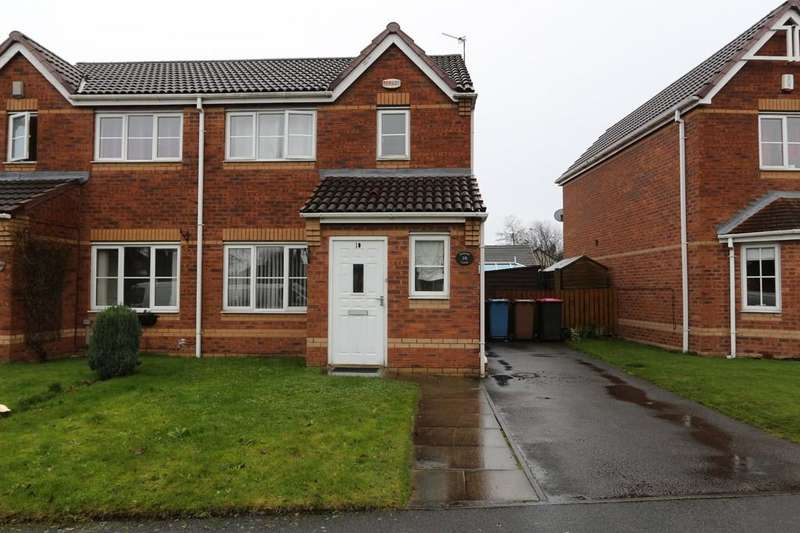 3 Bedrooms Semi Detached House for sale in 10 Primary Close, Cadishead
