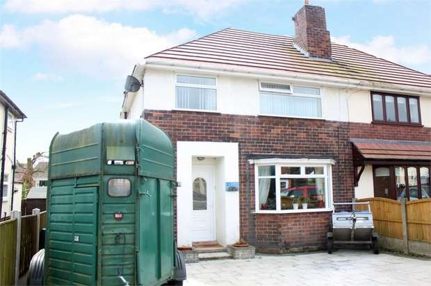 4 Bedrooms Semi Detached House for sale in Western Avenue, Mansfield, Nottinghamshire