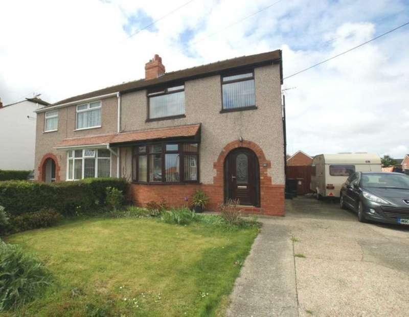 3 Bedrooms Semi Detached House for sale in Upper River Bank, Bagillt, Flintshire. CH6 6JL