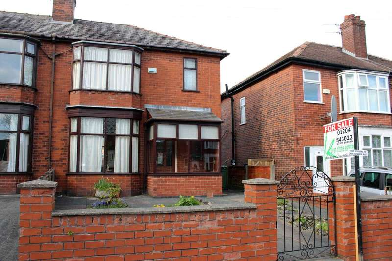3 Bedrooms Semi Detached House for sale in Weythorne Drive, Astley Bridge