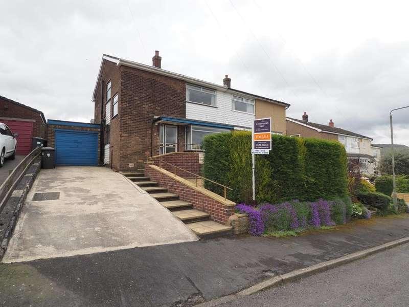 3 Bedrooms Semi Detached House for sale in Ashfield Road, Chapel-en-le-Frith, High Peak, Derbyshire, SK23 0PS
