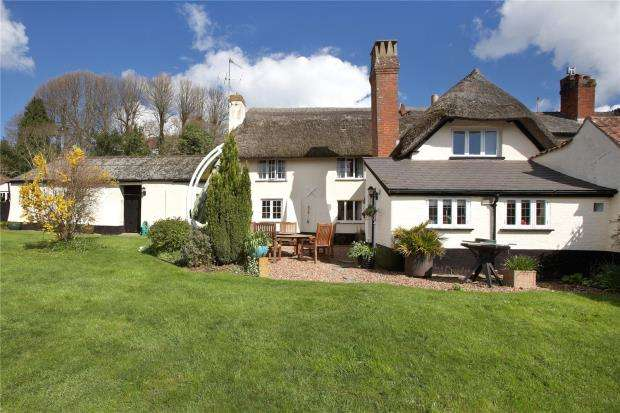 4 Bedrooms Link Detached House for sale in Oak Hill, East Budleigh, Devon