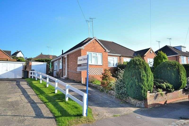 2 Bedrooms Semi Detached Bungalow for sale in Emu Close, Heath & Reach