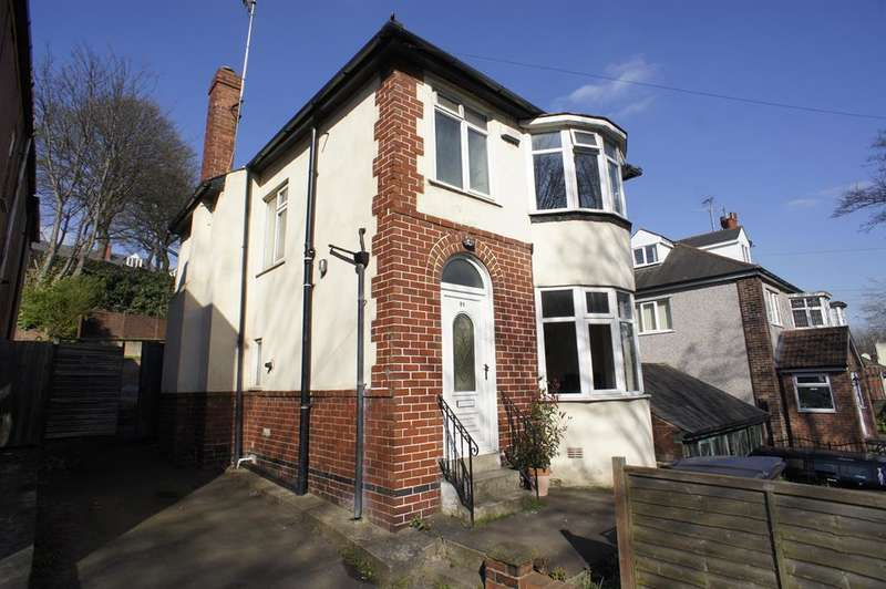 3 Bedrooms Detached House for sale in Sheldon Road , Nether Edge , Sheffield , S7 1GU
