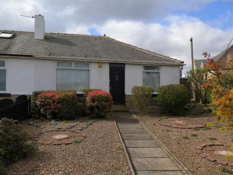 2 Bedrooms Semi Detached Bungalow for sale in The Crescent, Southowram, Halifax, HX3