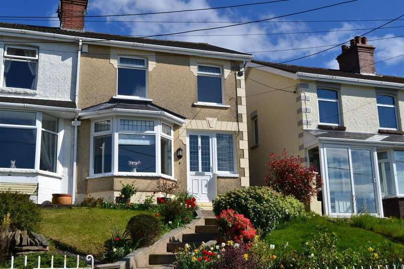 2 Bedrooms Semi Detached House for sale in Highland Terrace, Pontarddulais, Swansea