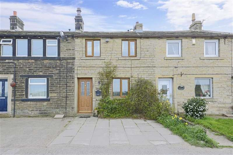 2 Bedrooms Cottage House for sale in Flowery Field, Hade Edge, Holmfirth, HD9