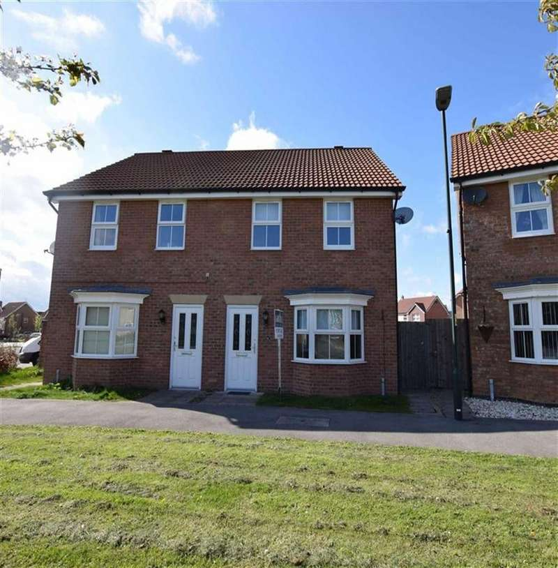 3 Bedrooms Semi Detached House for sale in Brockelsby Avenue, Immingham, North East Lincolnshire