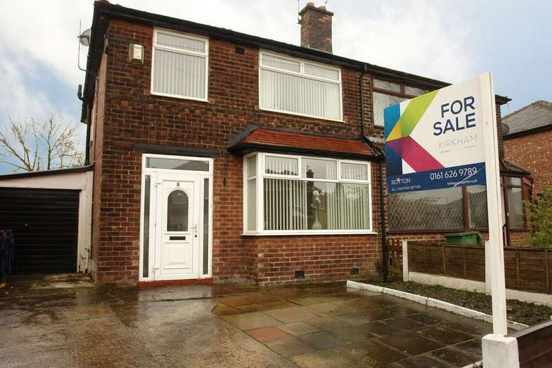 3 Bedrooms Semi Detached House for sale in Kenwick Drive, Manchester