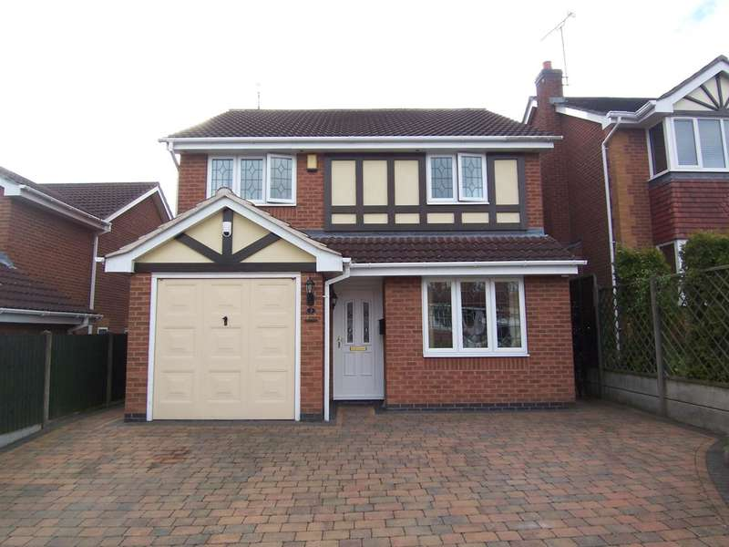 4 Bedrooms Detached House for sale in Princess Close, Heanor