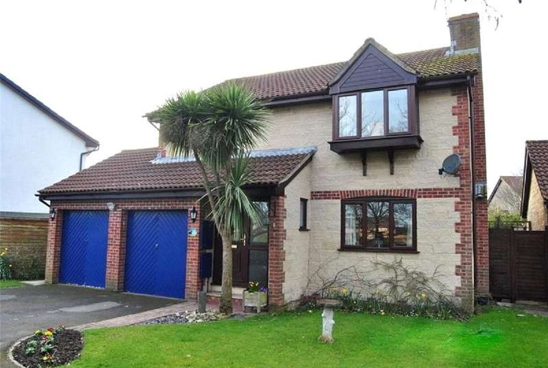 4 Bedrooms Detached House for sale in Coulson Drive, Weston-super-Mare, North Somerset, BS22