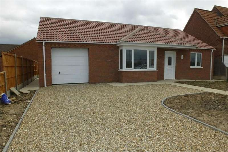 2 Bedrooms Detached Bungalow for sale in Mel Marshall Way, Wrangle, Boston, Lincolnshire