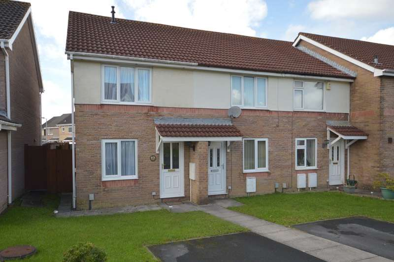2 Bedrooms End Of Terrace House for sale in Ffynnon Samlet, Swansea, Swansea, SA7