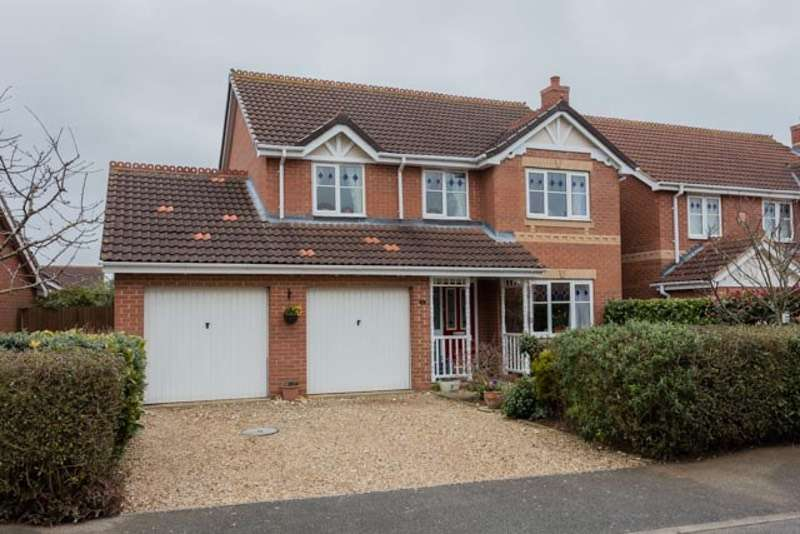 4 Bedrooms Detached House for sale in Gibson Close, Sleaford, Lincolnshire, NG34