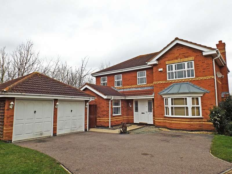 4 Bedrooms Detached House for sale in Lilleshall Drive, Bedford, Bedfordshire, MK42