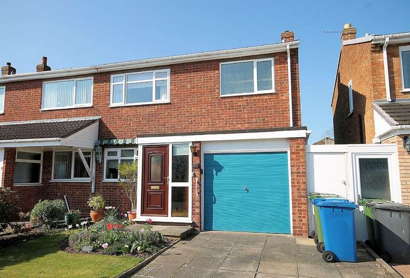 3 Bedrooms Semi Detached House for sale in Danelagh Close, Coton Green, Tamworth, B79 8LR