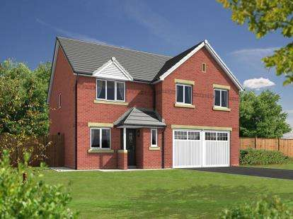 5 Bedrooms Detached House for sale in Chatsworth Park, Off Rope Lane, Shavington