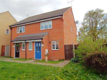 2 Bedrooms Semi Detached House for sale in Little Plumstead, Norwich, Norfolk