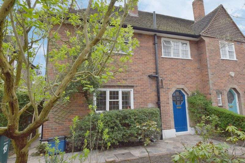3 Bedrooms Semi Detached House for sale in Hill Top, Hampstead Garden Suburb, NW11
