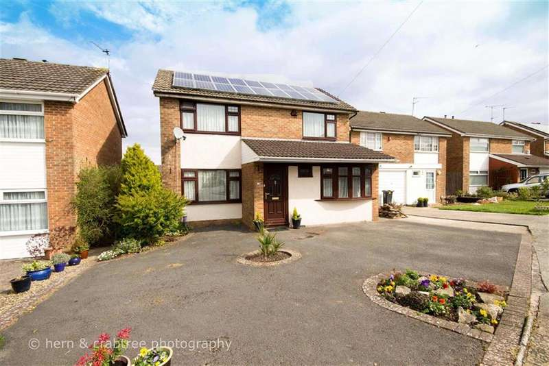 4 Bedrooms Detached House for sale in Lon Werdd, Michaelston, Cardiff