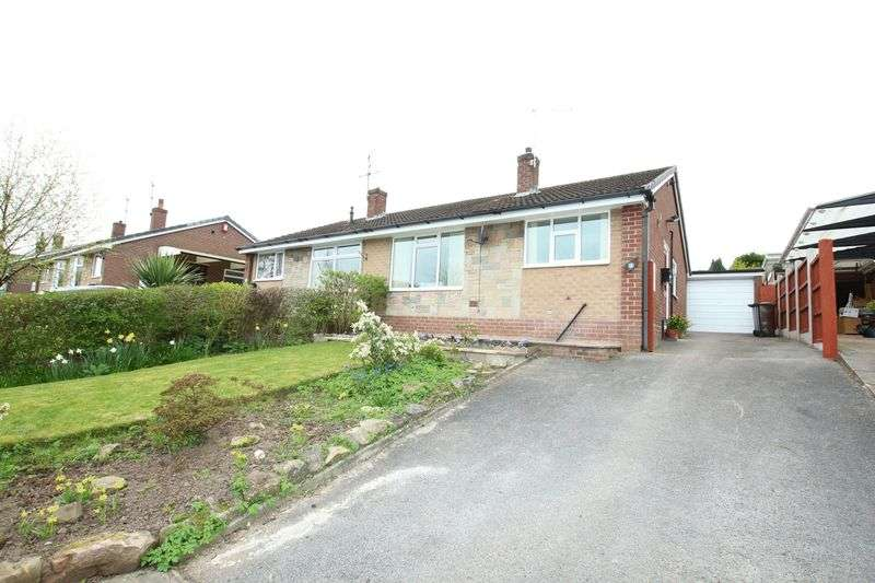 2 Bedrooms Semi Detached Bungalow for sale in Essex Drive, Gillow Heath, Biddulph