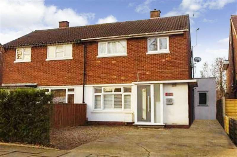 3 Bedrooms Semi Detached House for sale in Carnegie Road, St Albans, Hertfordshire