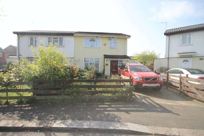 3 Bedrooms Semi Detached House for sale in Marley Close UB6 9UG Greenford