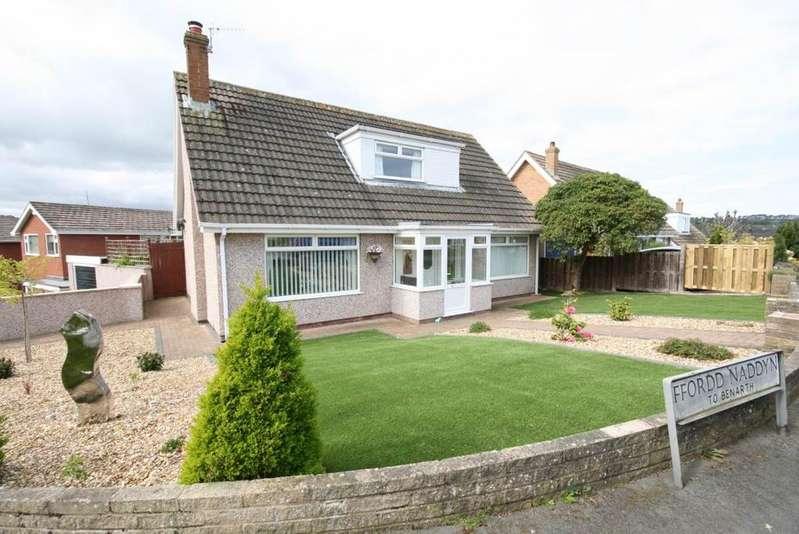 4 Bedrooms Detached House for sale in 120 Ffordd Naddyn, Llansanffraid Glan Conwy, LL28 5BJ