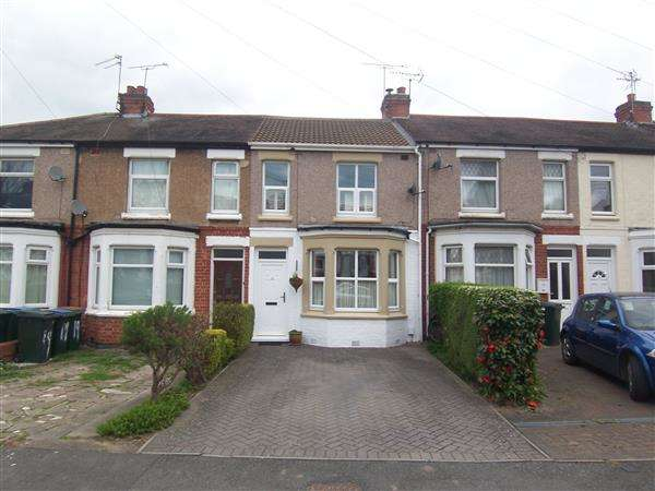 2 Bedrooms Terraced House for sale in Turner Road, Coventry