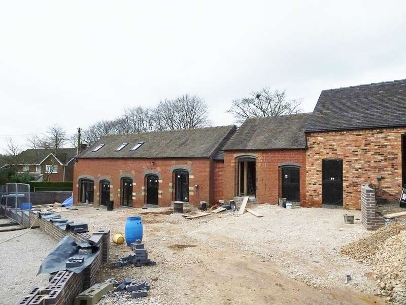 4 Bedrooms Barn Conversion Character Property for sale in Barn 2, Manor Barns, Leese Lane, Moddershall, ST15 8TG