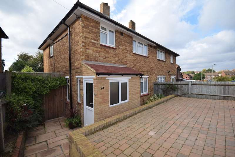 3 Bedrooms Semi Detached House for sale in Burrfield Drive, Orpington, Kent, BR5