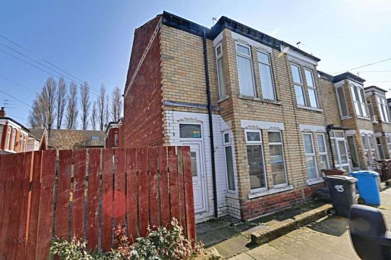 2 Bedrooms Terraced House for sale in Hardy Street, Hull