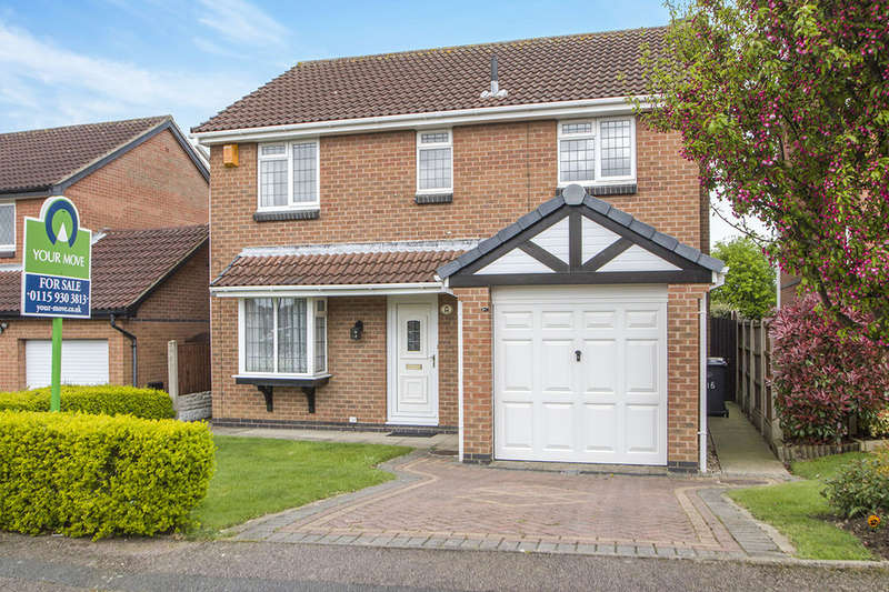 4 Bedrooms Detached House for sale in Wainfleet Close, Ilkeston, DE7