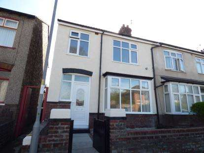 3 Bedrooms Semi Detached House for sale in Myers Road East, Crosby, Liverpool, Merseyside, L23