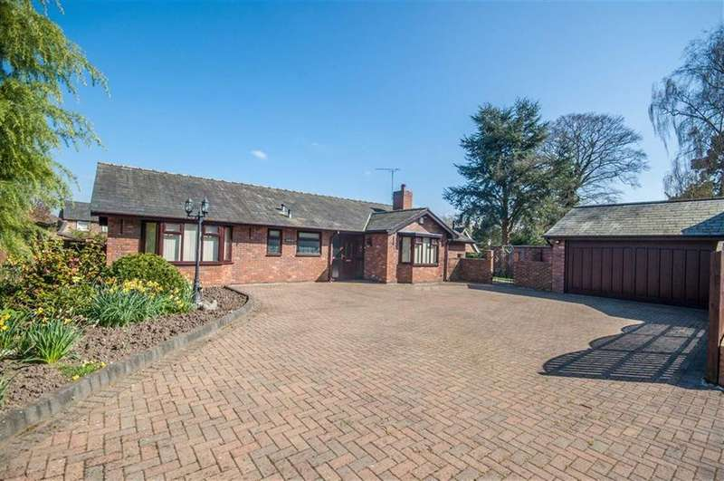 3 Bedrooms Detached Bungalow for sale in Warren Hall Court, Broughton, Flintshire, Chester