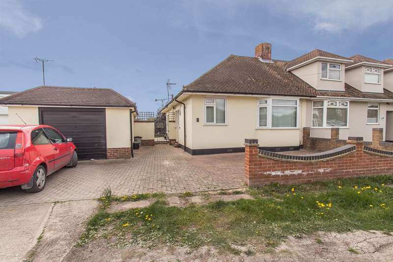 2 Bedrooms Semi Detached Bungalow for sale in Holland Avenue, Canvey Island, SS8