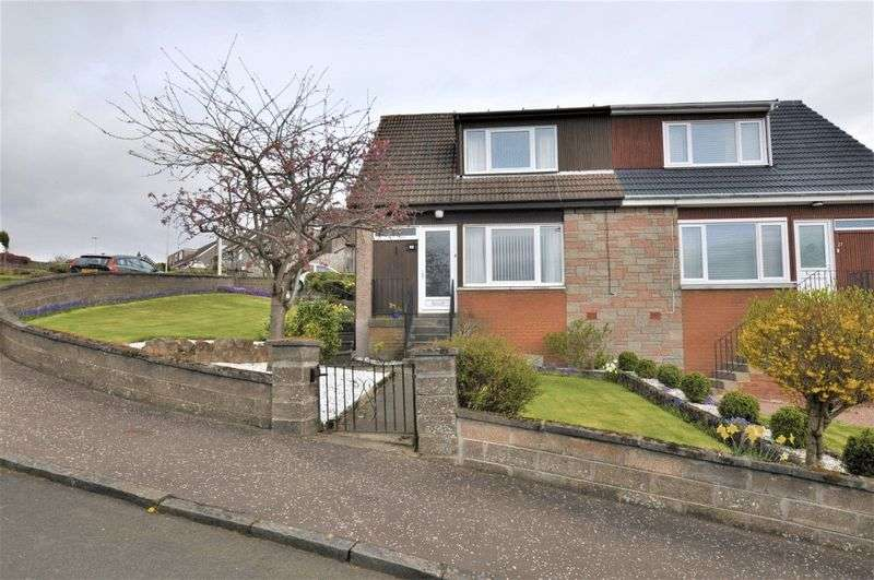 3 Bedrooms Semi Detached House for sale in The Hennings, Alloa