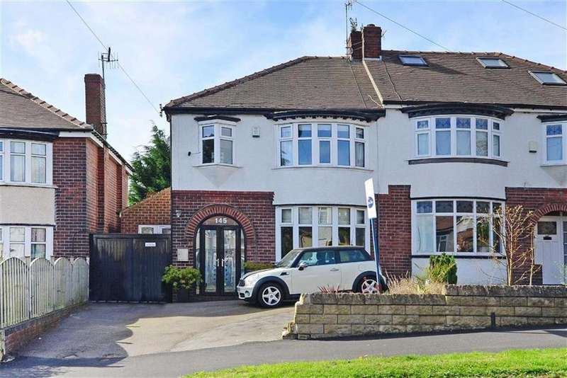 4 Bedrooms Semi Detached House for sale in 145, Springfield Road, Millhouses, Sheffield, S7