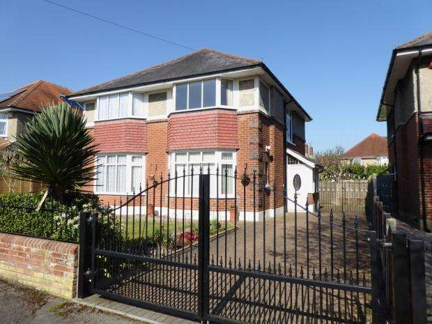4 Bedrooms Detached House for sale in St. Ledgers Road Queens Park Bournemouth