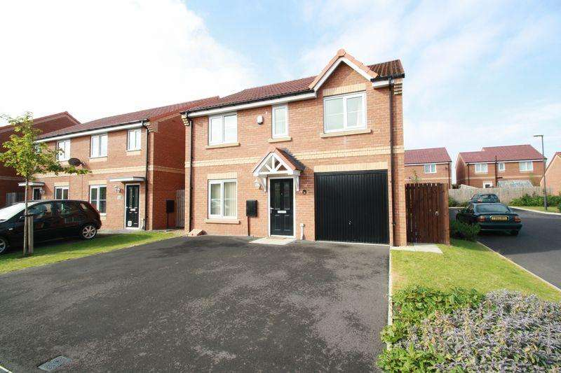 4 Bedrooms Detached House for sale in Birchwood Grove, Normanby, Middlesbrough, TS6 0GE