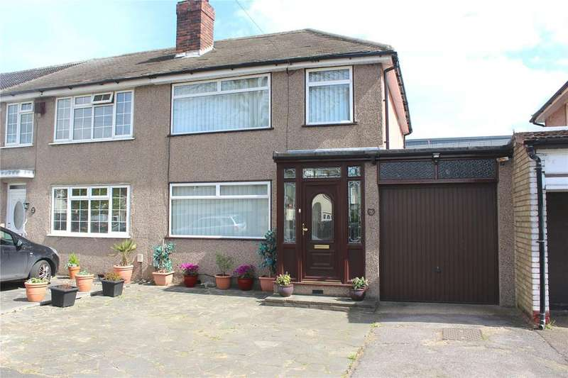 3 Bedrooms End Of Terrace House for sale in Spring Gardens, Hornchurch, RM12