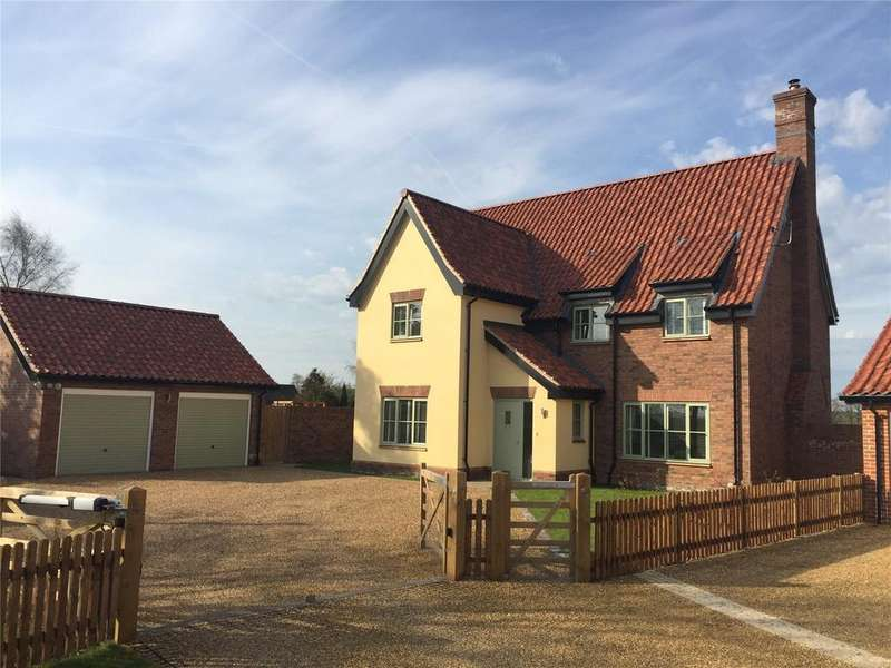 5 Bedrooms Detached House for sale in Norwich Road, Brooke, Norwich, NR15